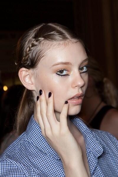 Backstage at Marchesa: Get the Look