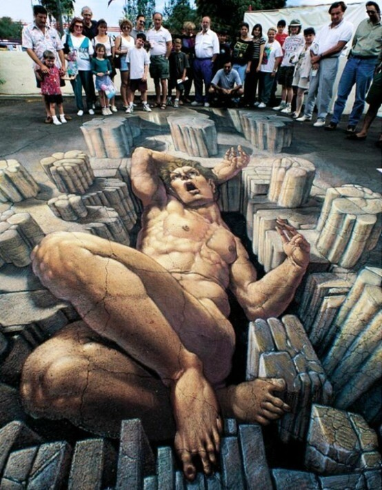 Amazing Ultra-Realistic 3D Graffiti!