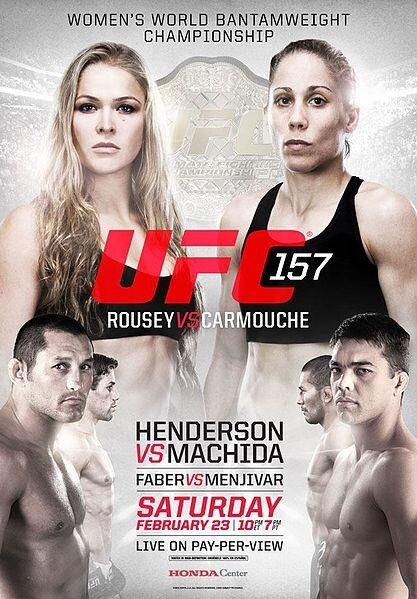 UFC Fight 157 Rousey vs. Carmouche