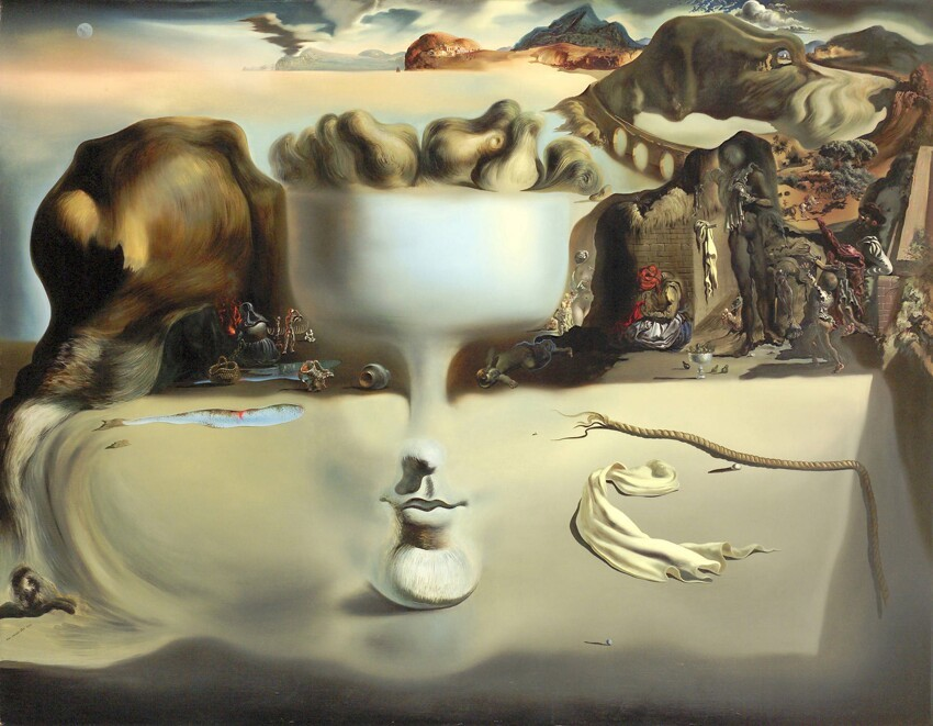 Intriguing Surrealist Paintings By Salvador Dali!