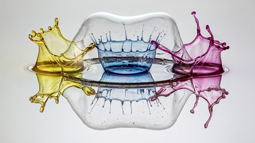 Mesmerizing Liquid Sculptures by Marcus Reugels