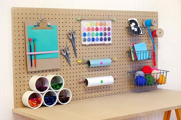 Build Your Kids Crafting Station on a Budget