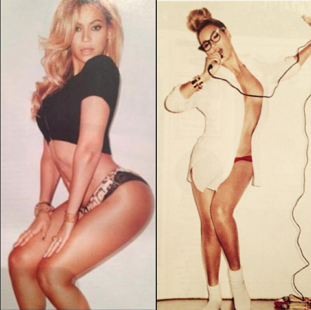 Beyonce is Flauntin' What She's Got