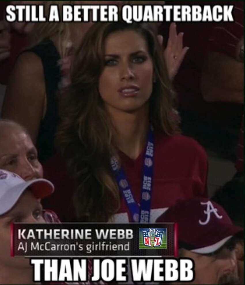 Who is Katherine Webb and why should we care?