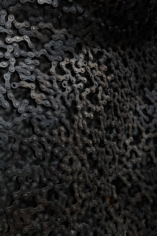 Bike Chain Art Sculptures!