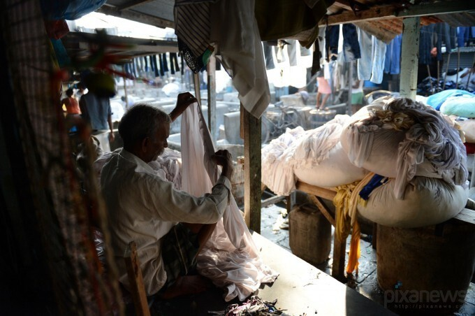 Indian Laundry Men