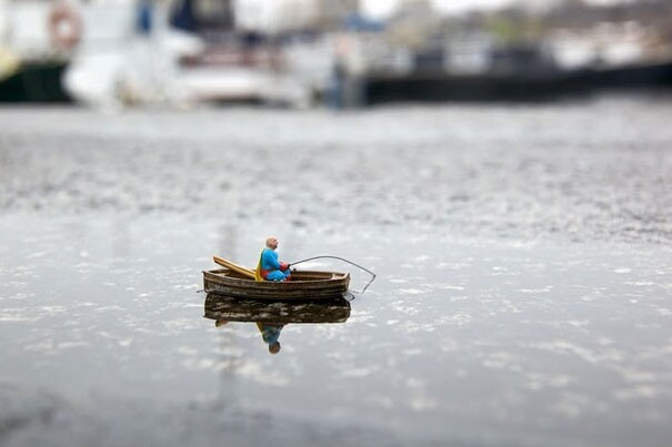 Little People – a Tiny Street Art Project