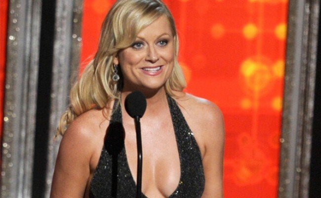 Amy Poehler's Cleavage is All the Rage