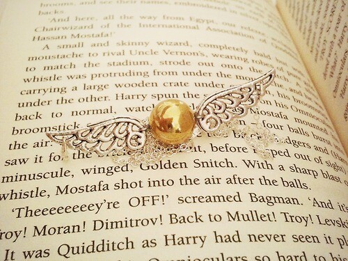 The Golden Snitch is Poppin', B****!
