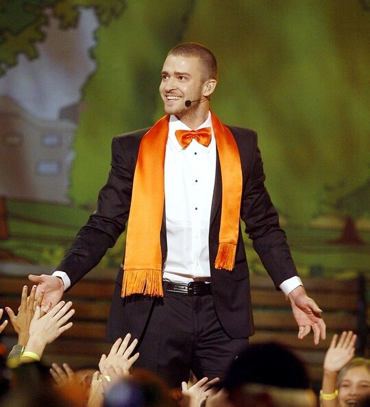 Justin Timberlake in Suit & Tie