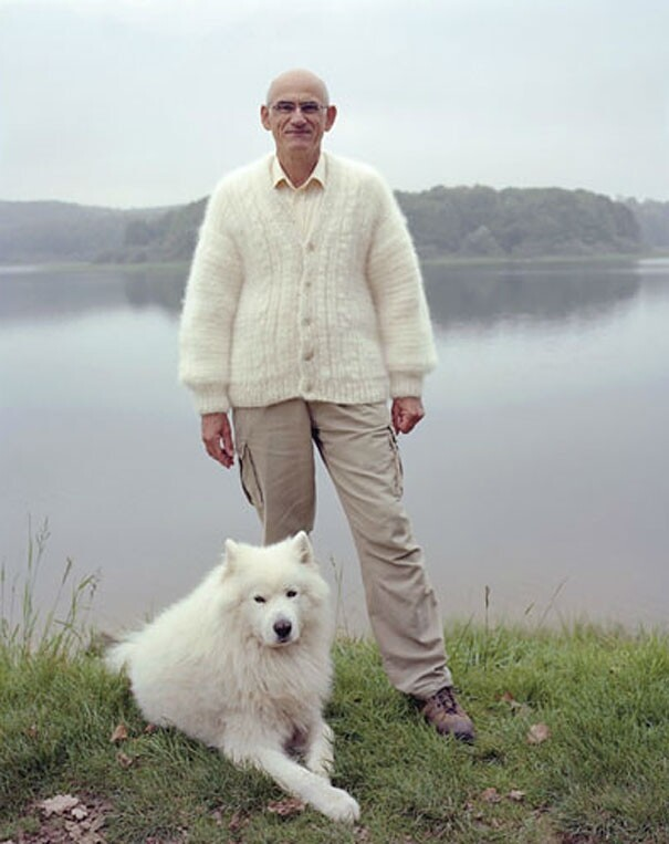 Dog Owners Wearing Clothes Made From Their Pet's Fur