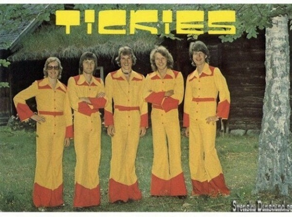 Ridiculous Fashion & Album Covers Of 1970s Swedish Bands
