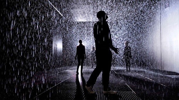 "Mysterious ""Rain Room"" Actually Keeps You Dry...?"