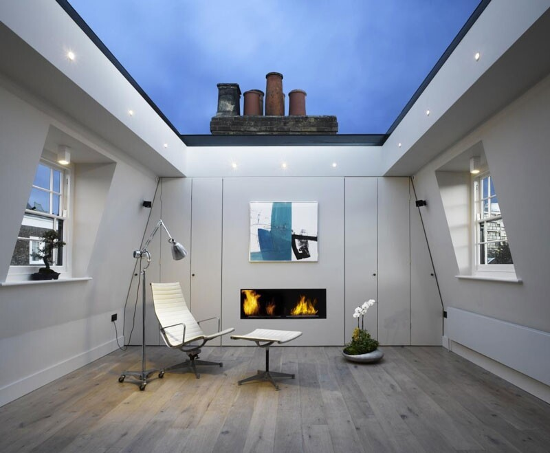 House in London With a Retractable Glass Roof