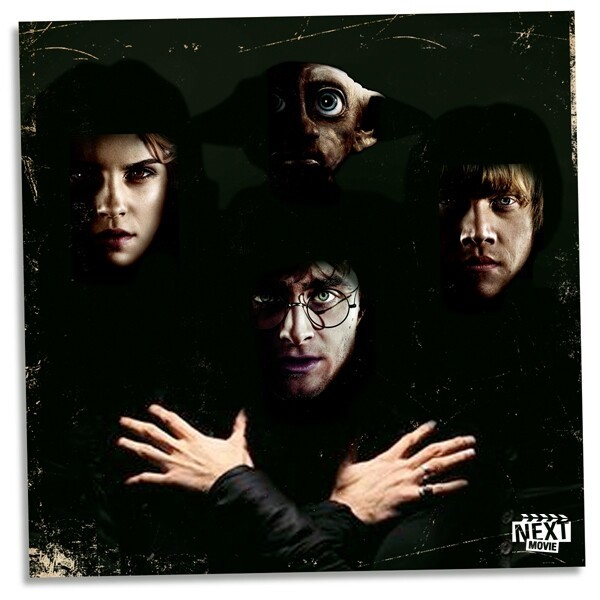 Classic Album Covers Re-Imagined With 'Harry Potter' Characters