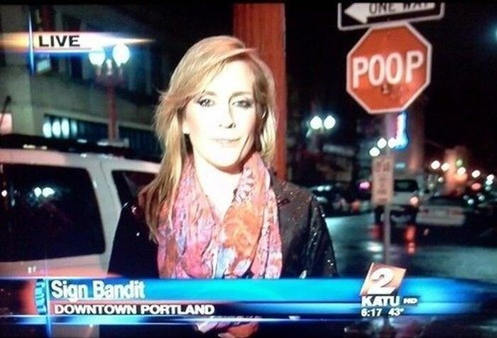 Funniest News Fails