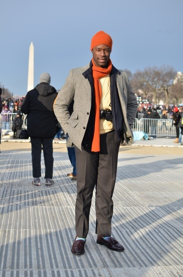 People Who Chose Style Over Warmth At The Inauguration