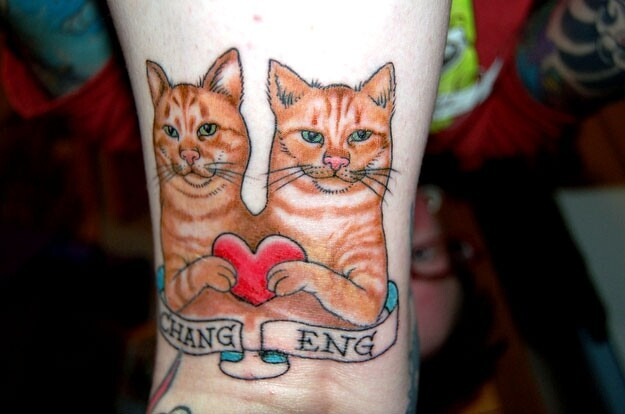 Meow! Here's 24 Fantastical & Unusual Cat Tattoos