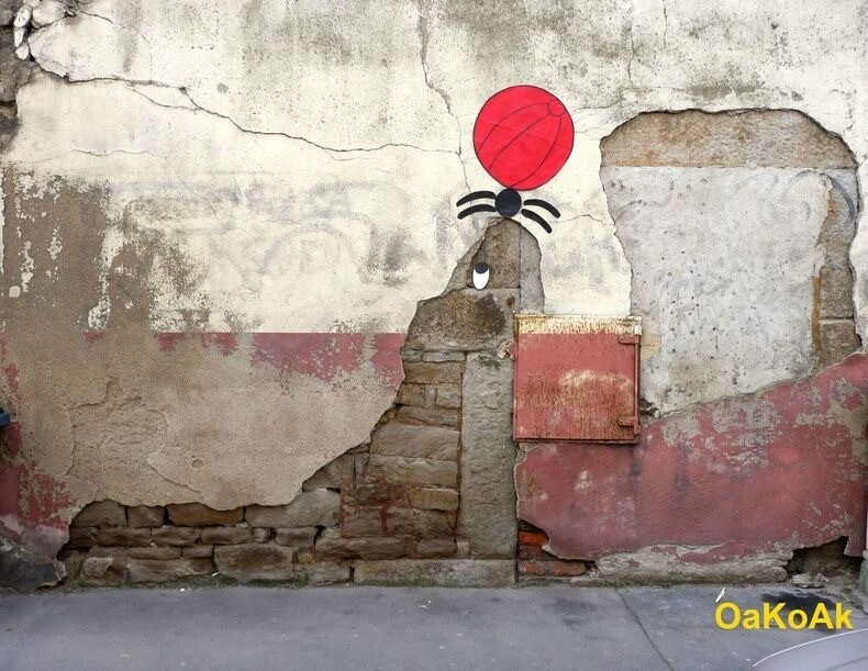 Creative Street Art by OakOak
