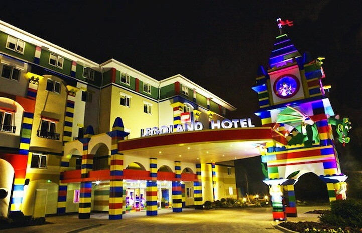 Real Life LEGO Hotel is Every Kid's Dream Come True
