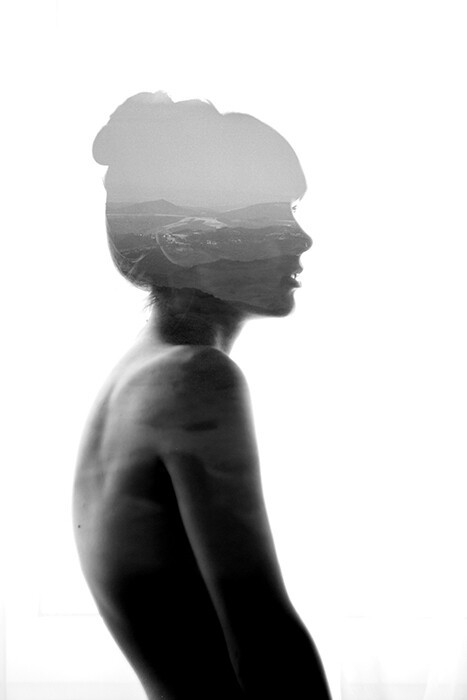 Soul-Searching Double Exposure Photography