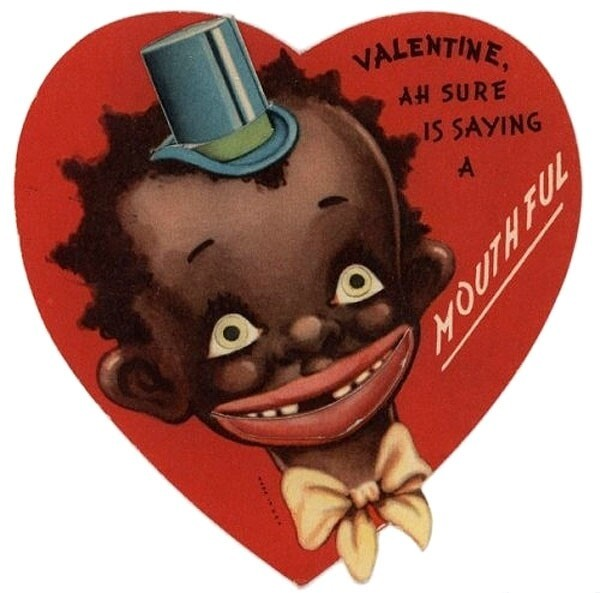 7 Shocking & Racist Vintage Valentine's Day Cards