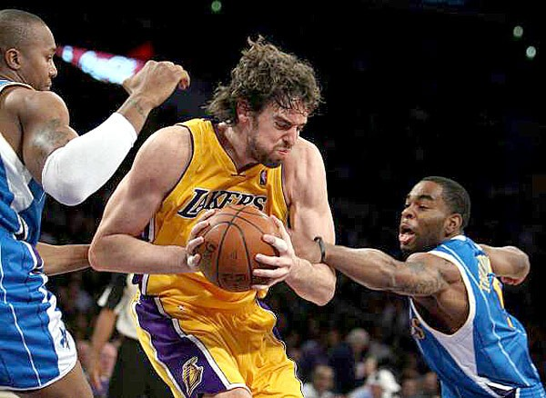 They've also continued to keep Pau Gasol out of the starting lineup.