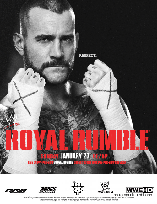 Wrestling. Yeah, it's still a Thing. WWE Royal Rumble