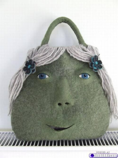 Carry Your Face on Your... Purse?