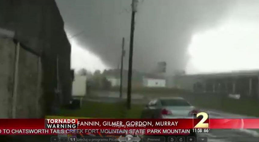 Deadly Tornado Slams Through Georgia