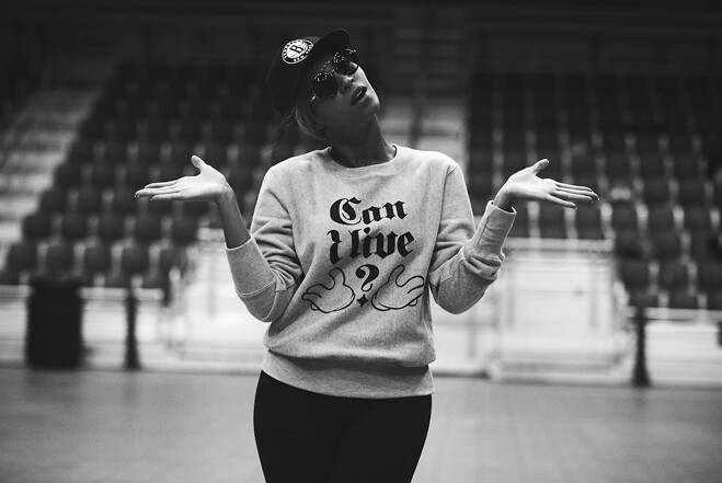 Beyonce: Rehearsal of Super Bowl Performance