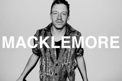 Macklemoore. Skilled artist, and apparently also a hottie?