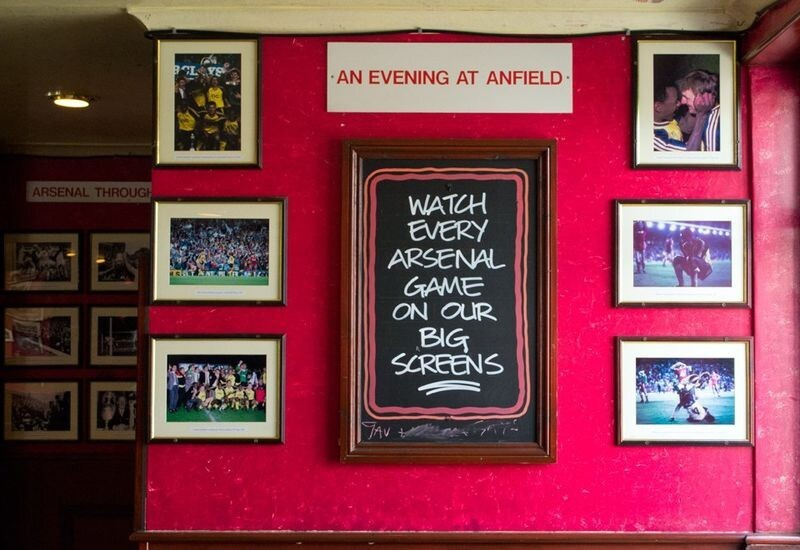 A Bar for Arsenal Fans