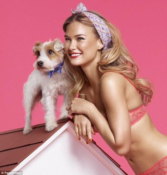 Bar Refaeli in Stunning Valentine's Day Underwear