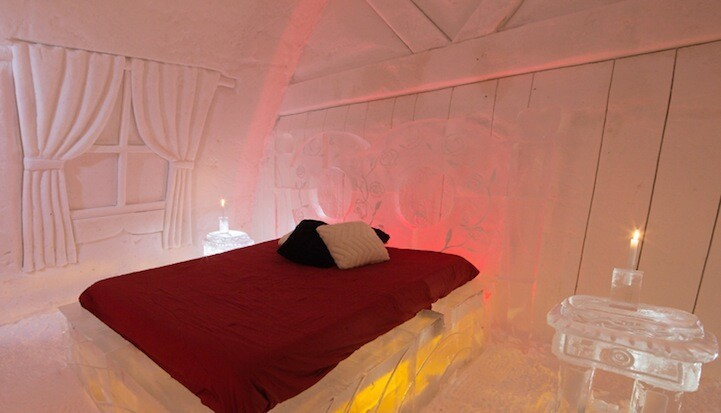 Canada's Magical Ice Hotel Inspired by Jules Verne