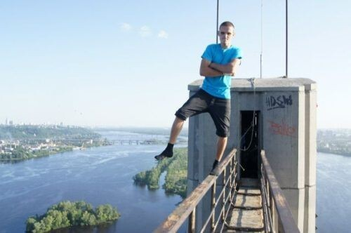 Cop-Out daredevil from the Ukraine
