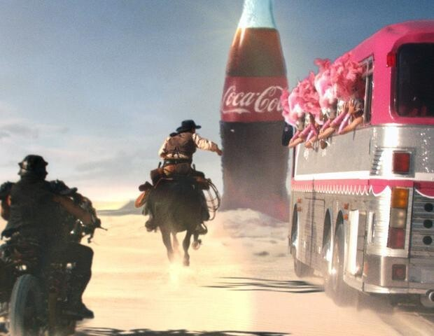 Coca Cola's Western Showdown Ad