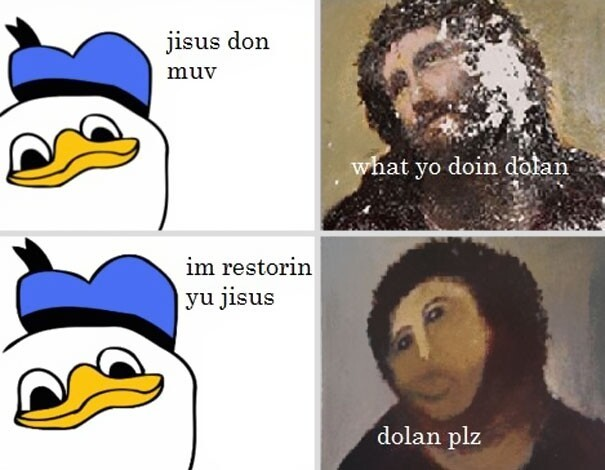 Hilarious Reactions to the Botched Ecce Homo Restoration