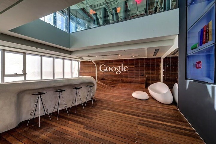 Google's Fresh New Offices in Tel Aviv
