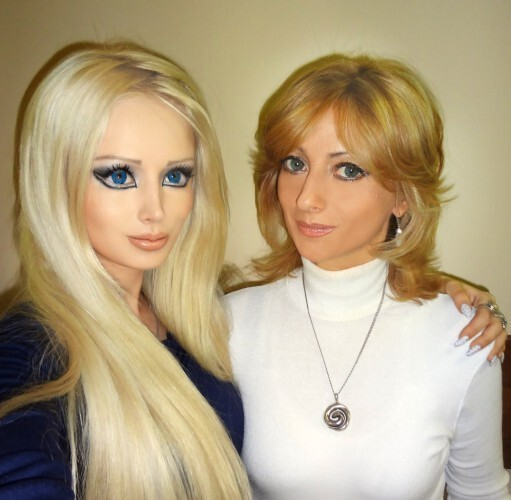 Barbie From Russia Showed Her Family
