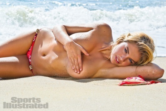 Kate Upton on the Cover of Sports Illustrated Swimsuit Issue for the 2nd Year in a Row