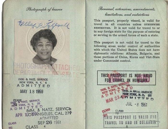 Passports of Famous People