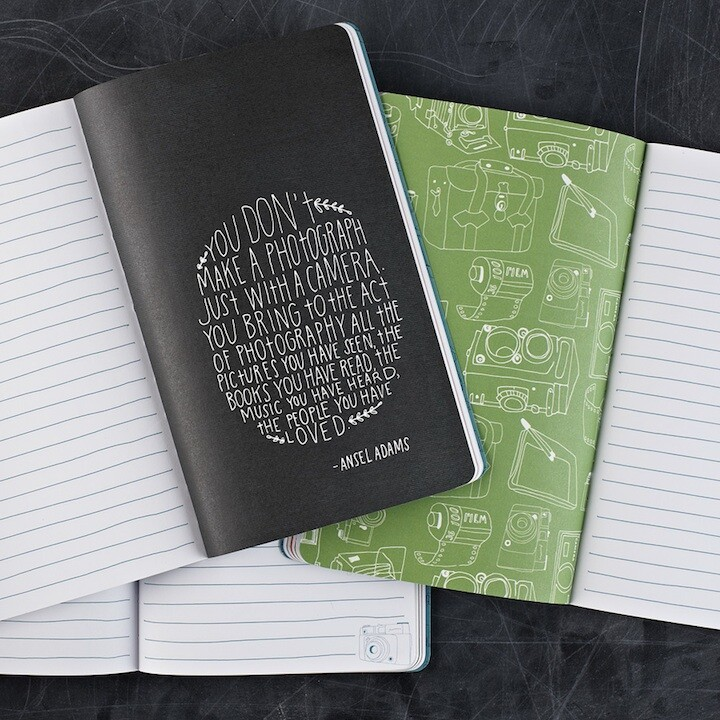 Inspiring Quotes By Famous Photographers Fill a New Journal