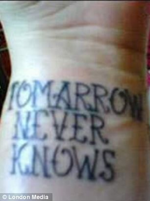 Hilarious photos of misspelled tattoos
