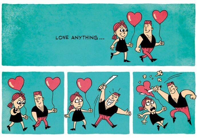 One Comics about Love