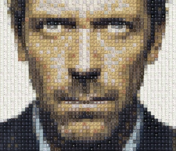 Celebrities Impressively Created From Keyboard Keys