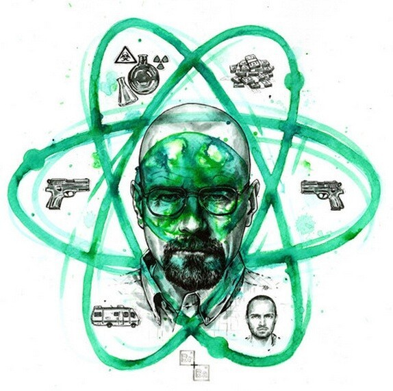 Brilliant Works From The 'Breaking Bad' Art Project