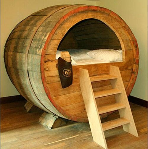 For True Beer Lovers There's a Beer Barrel Hotel