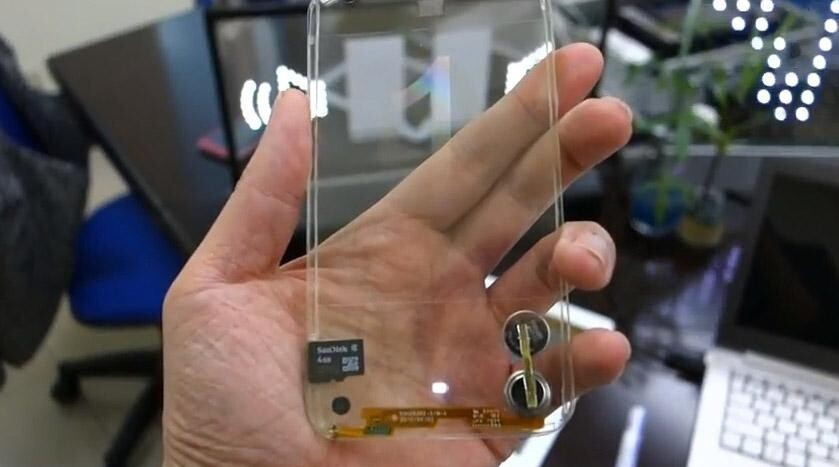 Transparent Phones Are Soon to Be Here!