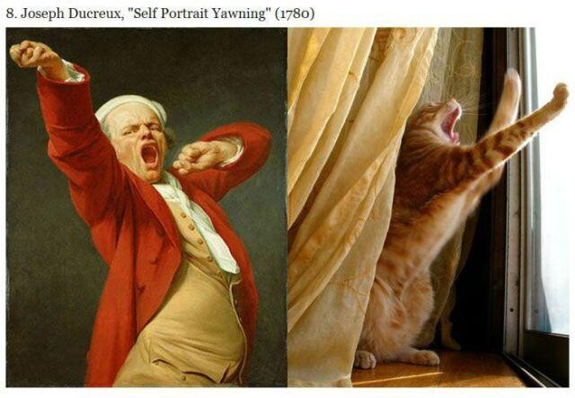 Cats VS Famous Paintings